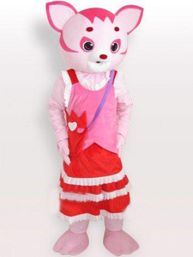 Fairy Short Plush Adult Mascot Costume