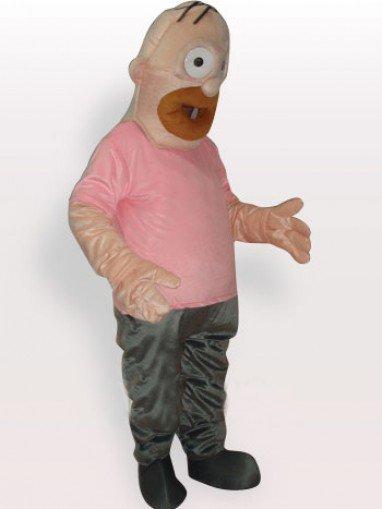 Father Simpson Short Plush Adult Mascot Costume