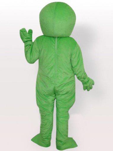 Green Alien Adult Mascot Costume