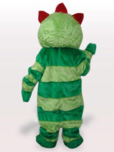 Green Monster Short Plush Adult Mascot Costume