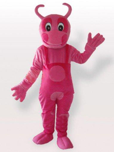 Pink Unique Adult Mascot Costume