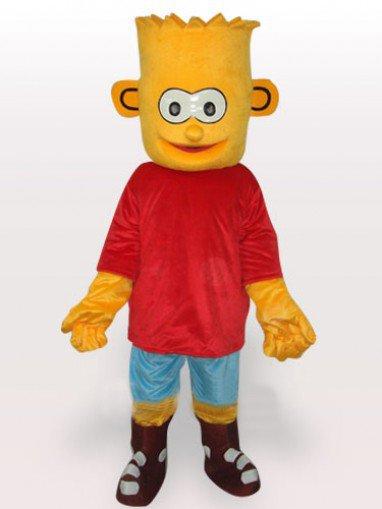 Simpson\'s Son Short Plush Adult Mascot Costume