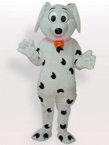 Stain Dog Short Plush Adult Mascot Costume