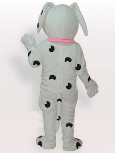Stain Dog Short Plush Adult Mascot Costume