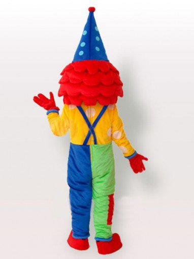 Superior The Clown Adult Mascot Costume