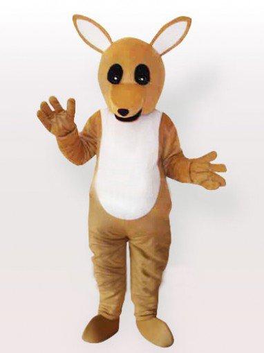 The Yellow Kangaroo Adult Mascot Costume