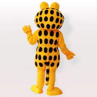 Unusual Unusual Garfield Adult Mascot Costume
