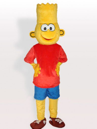 Bart Simpson Adult Mascot Costume