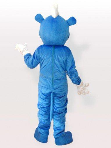 Blue Bear Adult Mascot Costume