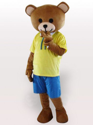 Classic Cheap Teddy Bear Adult Mascot Costume