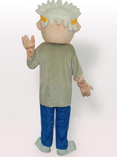Golf Boy Adult Mascot Costume