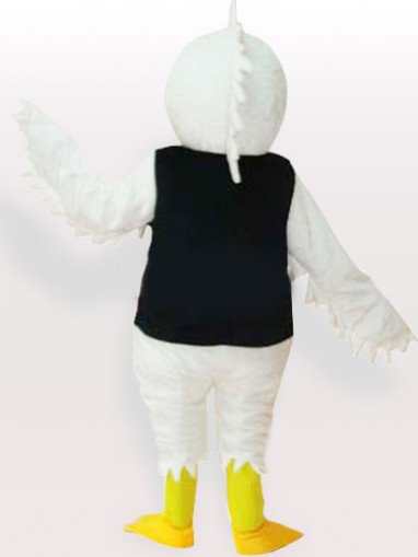 The White Eagle Adult Mascot Costume
