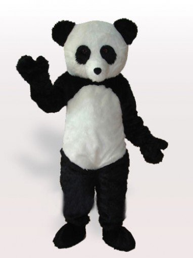 Adorable Giant Panda Adult Mascot Costume