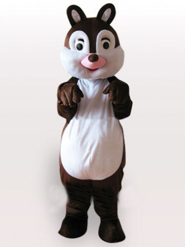 Classic Little Squirrel Adult Mascot Costume
