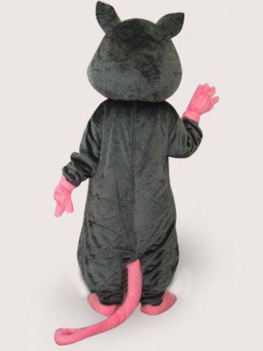 Ideal Black Mouse Plush Adult Mascot Costume