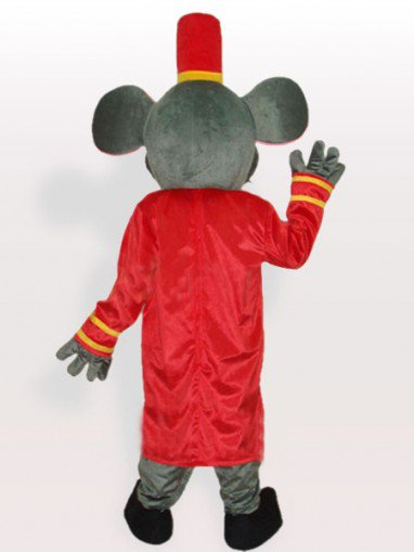 Porter Mouse Adult Mascot Costume