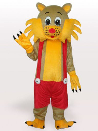 Suitable Top Cat Short Plush Adult Mascot Costume