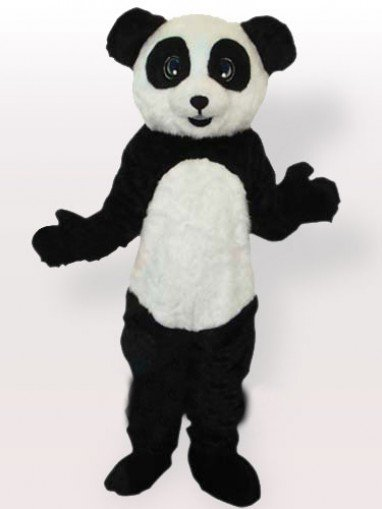 Unusual Plush Panda Adult Mascot Costume