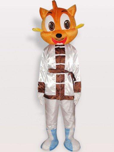 Unusual Top Cat Short Plush Adult Mascot Costume