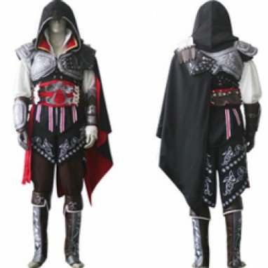 Assassin\'s Creed II Ezio Black Edition Costume