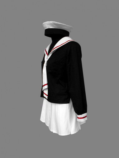 Cardcaptor Sakura Tomoeda Elementary School Female Students Halloween Cosplay Uniform