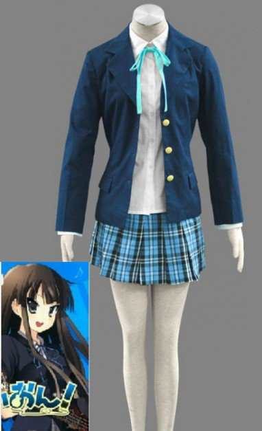 K-On! Yui Hirasawa Halloween Cosplay Costume