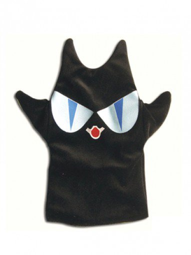 Ouran High School Host Club Umehito Nekozawa Halloween Cosplay Black Satan Hand Puppet