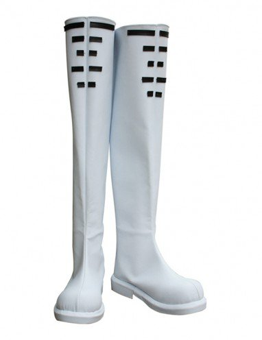Cheap Vocaloid Hatsune Miku Imitated Leather Halloween Cosplay Shoes