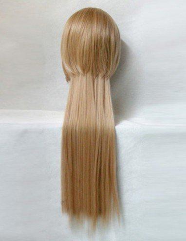 StarrySky Flax Brown Rear-long Wig