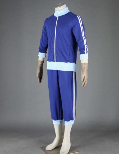 Suitable Popular Vocaloid Kaito Three-piece Anime Halloween Cosplay Costumes