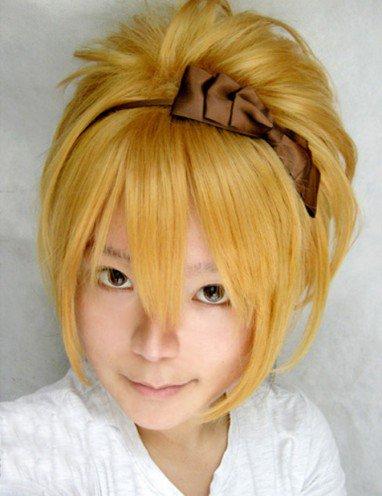 Vocaloid - Rin Light Gold Medium length Hair