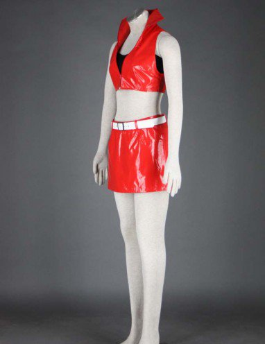 Vocaloid Meiko Five-piece Anime Halloween Cosplay Costumes