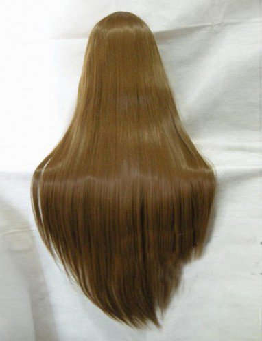 Vocaloid Brown Long Straight Hair