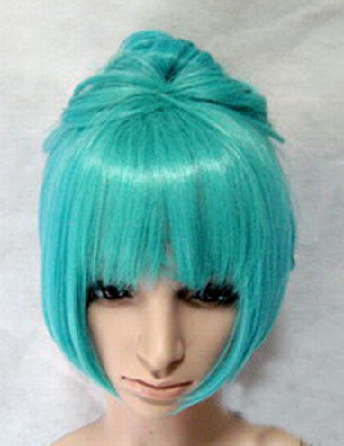 Vocaloid Miku Pale Green Wig