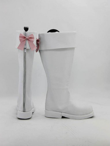 AKB0048 Center Nova Chieri Sono White Cosplay Boots