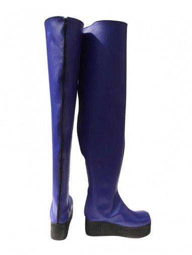 AKB0048 Cosplay Mimori Kishida 8th Blue Cosplay Boots
