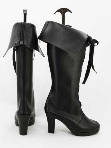 AKB0048 Cosplay Tomomi Itano Black Cosplay Boots