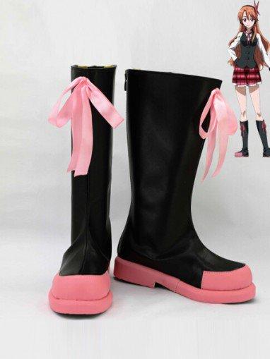 Akame Ga Kill! Chelsea Cosplay Combat Boots