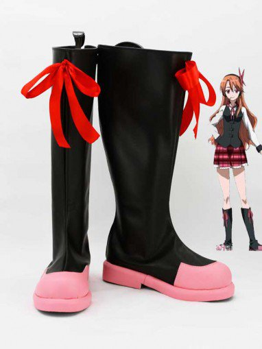 Akame Ga Kill! Cosplay Chelsea Cosplay Combat Boots