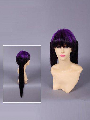 Ao No Exorcist Izumo Kamiki Purple Cosplay Wig