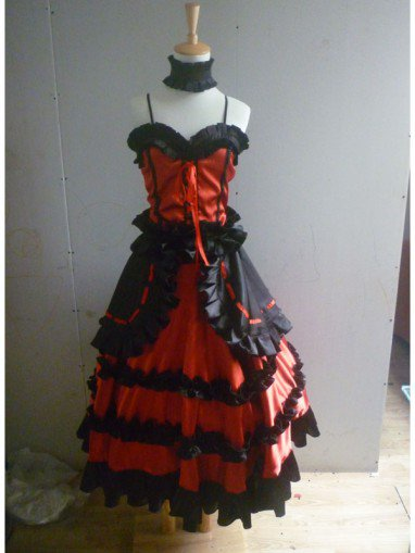 Date A Live Cosplay Kurumi Tokisaki Cosplay Costume/Lolita Dress