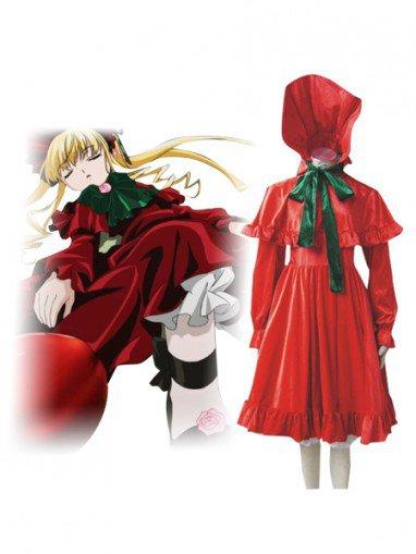 Rozen Maiden Cosplay Shinku/Reiner Rubin Cosplay Costume