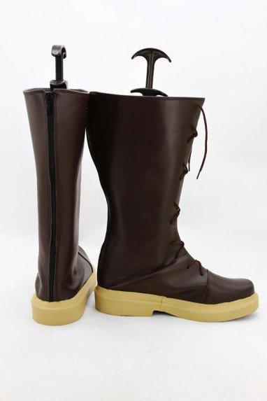Shugo Chara! Fujisaki Nagihiko Brown Cosplay Boots