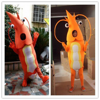 Lobster Cartoon Costumes Walking Cartoon Doll Doll Ocean Series Doll Clothing Doll Costumes Mascot Costume
