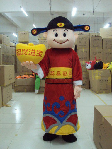 Manufacturers Sold Clothing Walking Cartoon Cartoon Doll Doll Cartoon Costumes Cartoon Costumes Treasurer Mascot Costume