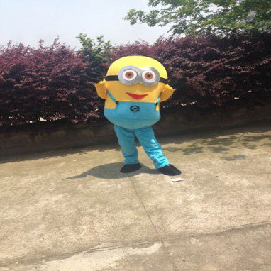 Small Yellow People Walking Doll Clothing Doll Clothing Cartoon Despicable Me Huang Doudou Little Yellow People Despicable Me Clothing Mascot Costume