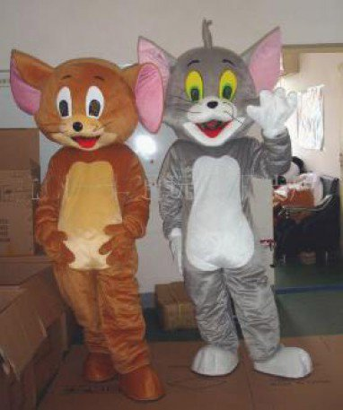 Costumes Dolls Walking Cartoon Show Advertising Clothing Geely Geely Cat Mouse Jerry Mascot Costume