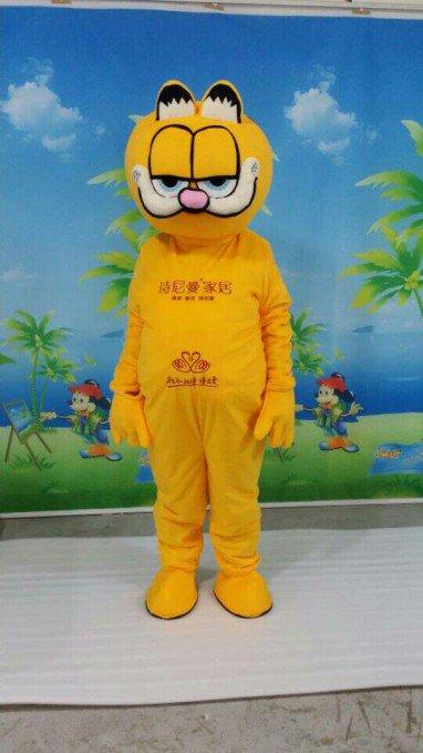 Garfield Cartoon Dolls Walking Cartoon Doll Clothing Cartoon Costumes Cartoon Dolls Clothes Mascot Costume