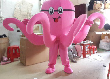 Octopus Cartoon Clothing Cartoon Walking Doll Clothing Doll Doll Show Promote Its Props Mascot Costume