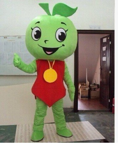 Red Apple Green Apple Fruit Cartoon Doll Clothing Animal Shows Stage Performances Clothing Props Doll Clothing Mascot Costume
